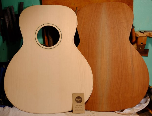Red Spruce and Claro Walnut L-00, VIntage Inspired