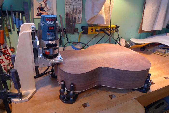guitar binding machine