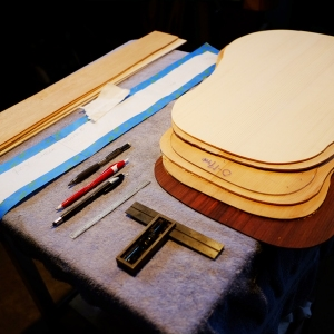 sitka and adirondack spruce, mahogany, and Indian Rosewood for upcoming guitar builds